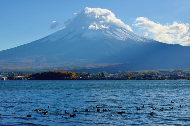 河口湖富士山7