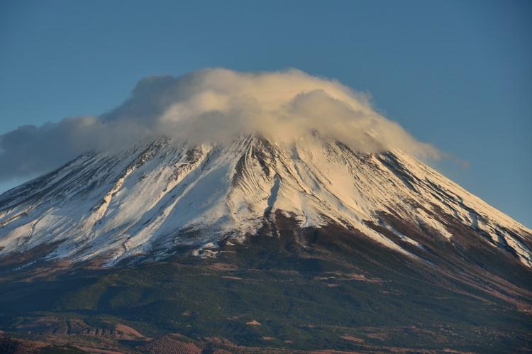 本栖湖の富士山5