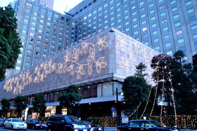東京日比谷のクリスマス1