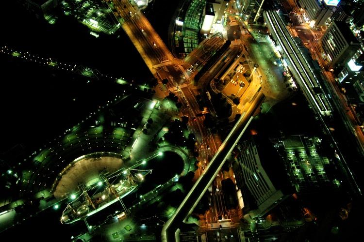 横浜の夜景2(4)