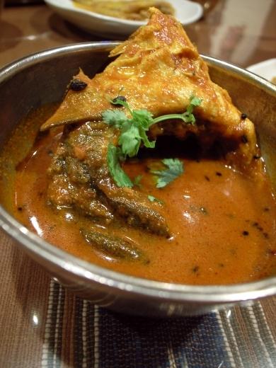 puja 魚カレー