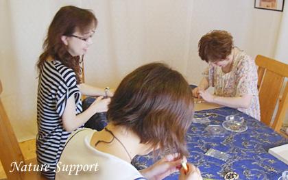 マクラメ編み ブレスレット手作り教室