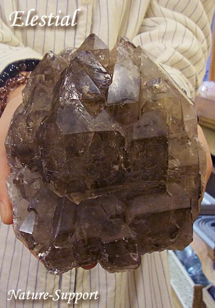 ジャカレー水晶 スモーキーエレスチャル