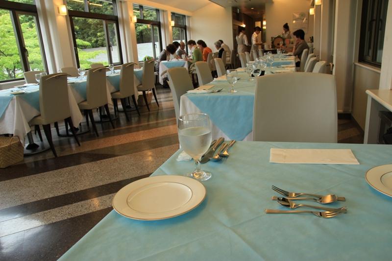 川村 美術館 レストラン
