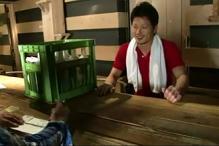 ゲイ動画:酒屋の兄ちゃん、嫁には内緒でオレが癒します !!