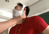ゲイ動画:[男のプリケツ] 変態先生ビンビン勃起のパンツ仮面でGO !!  好帥哥