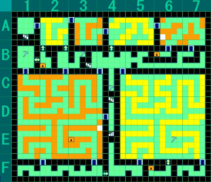 世界樹の迷宮IV 暗国ノ殿 B2F