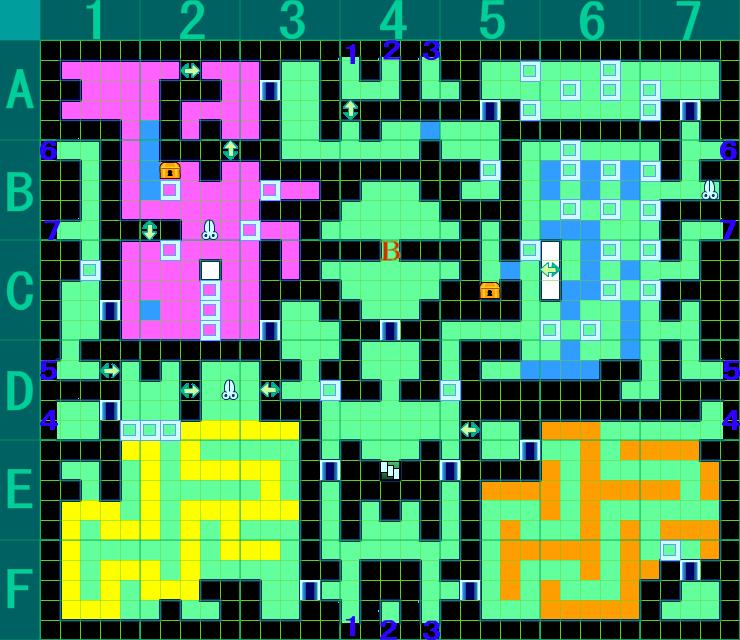 世界樹の迷宮IV 暗国ノ殿 B3F