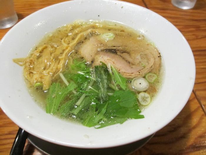 中田製作所 塩ラーメン