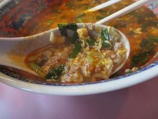 紹興楼 担々麺 具 (2)