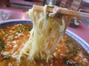 紹興楼 担々麺 麺
