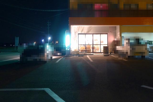 trailcoffeeハナツムリ駐車場02