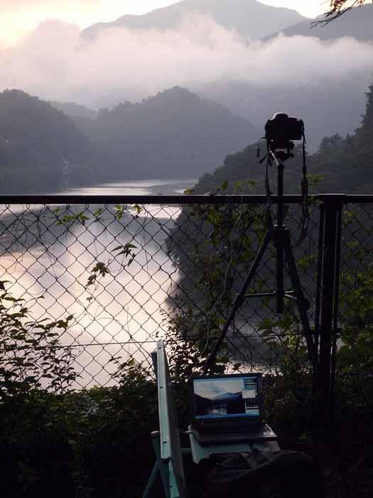 微速度撮影の撮影環境