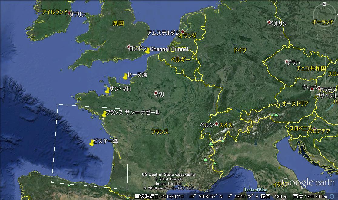 ロシア海軍北方艦隊艦船支隊は英仏海峡を抜けてビスケー湾へ入った ...