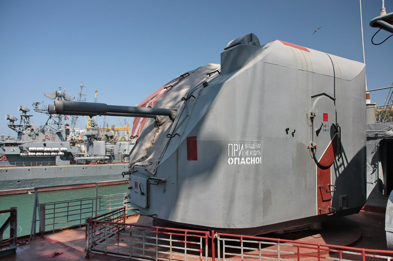 最後のカーラ級ミサイル巡洋艦ケルチ近影(2012年6月) | N.G. ...