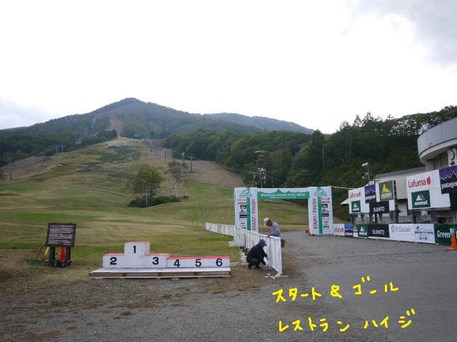 斑尾高原トレイルランニングレース2012