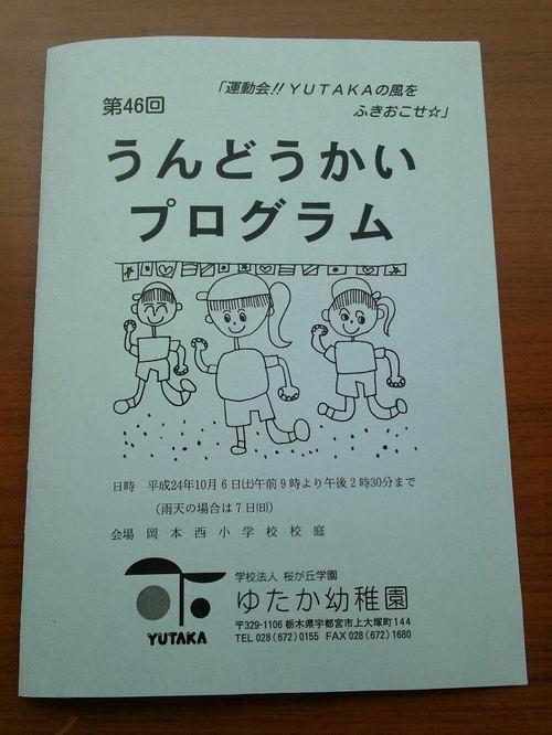 ゆたか幼稚園【運動会】①