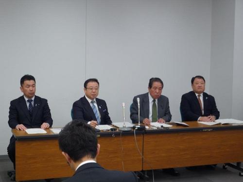 栃木県当初予算および行政推進に関する要望書に対する回答①