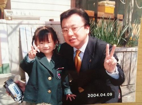 次女が小学校を卒業②