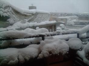 東京南部~大雪は雨に変わらず12時間以上降り続けました(ToT)/~~~2014.02.14.16:45
