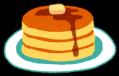 ブログ素材(ホットケーキ)