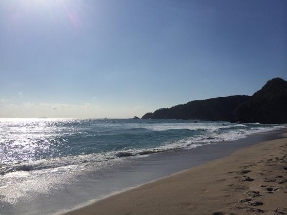 2014/11/30 南伊豆 吉佐美大浜の海