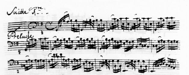 バッハ無伴奏チェロ組曲「妻が作...